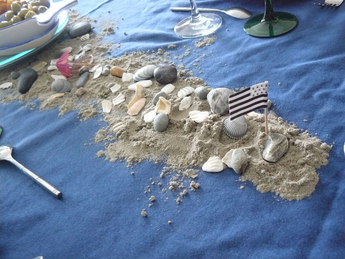décoration de table bretonne #2